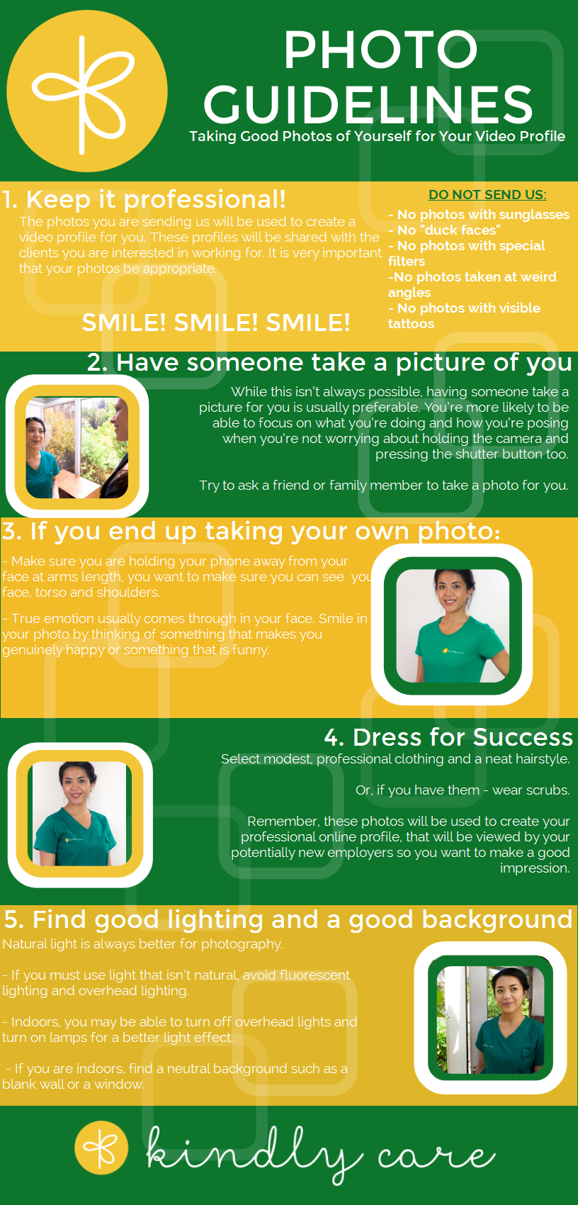 CG Photo Guidelines