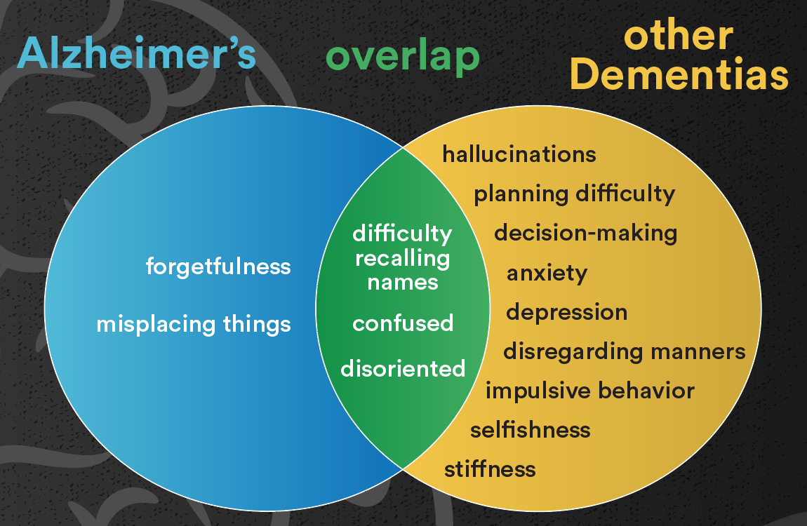 Image result for alzheimers vs dementia